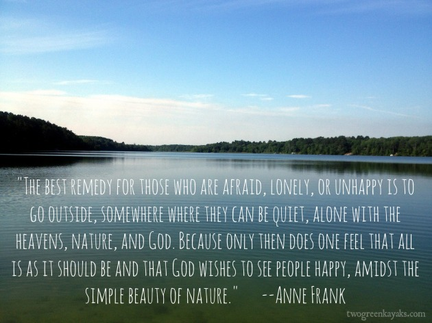 anne frank nature